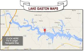 outdoor world lake gaston map where is lake gaston infolakes co