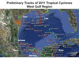 Mexico Hurricane Map by Quick Review Of The 2011 Atlantic Hurricane Season For The Rio