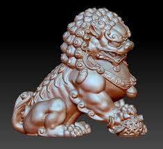 images of foo dogs animal guardian lion or foo dogs 3d model cgtrader