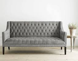 Contemporary Leather Loveseat Sofa Tufted Sofa Set Gray Tufted Sleeper Sofa Contemporary