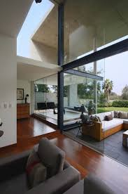 Modern Living Spaces Modern Interplay Of Indoor And Outdoor Living Spaces S House In