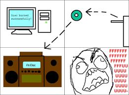 Cd Meme - image classic rage comics cd burning png teh meme wiki fandom