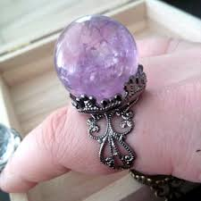 crystal ball rings images Best mystic quartz rings products on wanelo jpg