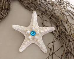 starfish hair clip ariel the mermaid starfish hair clip