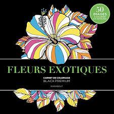 Black premium Fleurs exotiques Livre EPUB Téléchargement  Epub Gratuit