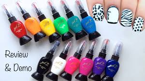 simply spoiled beauty products nail art pens review u0026 demo youtube