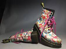 doc dr martens sanrio kitty boots rare 2010 limited edition