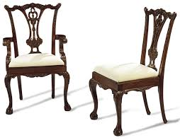 Dining High Chairs And Claw Foot Dining Chairs High End Solid Mahogany 44