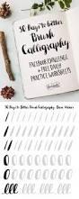 11 best calligraphy images on pinterest brush lettering best