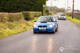 rally subaru colin mcrae memorial run rms motoring