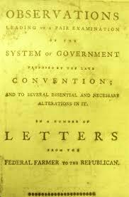 timeline of federal farmer essays teaching american history