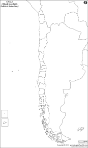 Blank Map Of Asia Quiz by Blank Map Of Chile Chile Outline Map