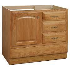 shop project source oak bathroom vanity common 36 in x 21 in