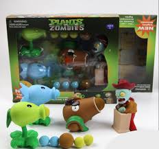 plants vs zombies gift box peashooter snowpea coconut cannon