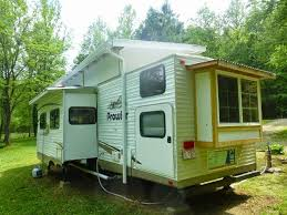 tiny house slide out spectacular travel trailer to tiny house conversion