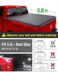 Dodge Ram 1500 Used Truck Bed - amazon com premium tcd371015 tri fold tonneau truck bed cover