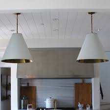 Cone Pendant Light My Kitchen Pendants And A Circa Goodman Substitute Green