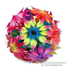 Origami Modular Flower - tutorial gloriosa modular origami flowers watch the video u2026 flickr