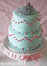 princess birthday tiara cake carriage cookies u0026 sparkley pink