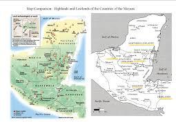 Aztec Mayan Inca Map Maya Map Clipart Collection