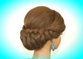 bridal wedding updo hairstyles for long medium hair updo