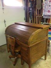Roll Top Antique Desk Antique Roll Top Desk Ebay