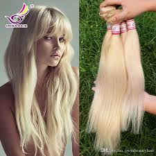 sew in hair extensions european blond 613 100 unprocessed remy human hair weave white