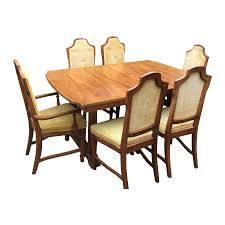 1960s bassett mid century dining set chairish