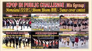 Challenge Mix Kpop In Challenge Mix 6group Momoland 모모랜드