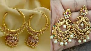 chandbali earrings chandbali earrings designs gold earrings designs
