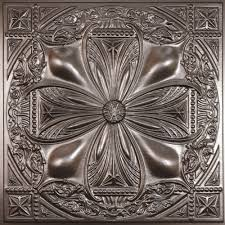 ceilume avalon faux tin 2 ft x 2 ft lay in or glue up ceiling