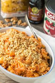 pasta with sausage mascarpone walnuts u0026 chocolate hazelnut baci