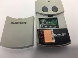 clicker keypad garage door opener clicker clt1 universal garage door opener remote control what u0027s
