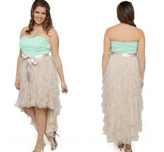 young plus size cocktail dresses ribbons chiffon ruffles