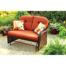 Charleston Patio Furniture by Loveseat Wicker Glider Loveseat Cushions Charleston Outdoor