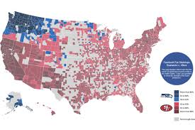 United States Map Game by 49ers Fans Travel Up To Seattle For Nfc Championship Game Niners