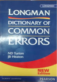 longman dictionary of common errors 1st edition buy longman