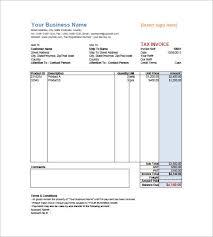 invoice form word plainresume co