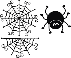 halloween web template cute spider web clipart clipartfest