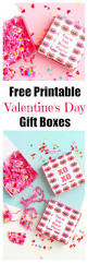 printable valentine u0027s day gift boxes val event gal