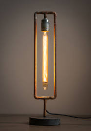 Plumbing Pipe Floor Lamp by This Lamp Is Build From Brass Pipes And A 30 Cm Long Light Bulb