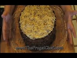 how to make german chocolate cake youtube