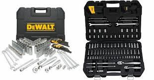 amazon black friday dewalt amazon dewalt 118 piece mechanics tool set just 52 99 shipped