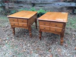 Ethan Allen Student Desk Vintage Ethan Allen Maple End Tables 85 Pair See More Info At