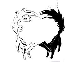 Yang Yang Tattoos Yin Yang Wolfs By Arafelshadow On Deviantart