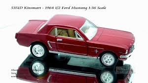 5351d kinsmart 1964 ford mustang 136 diecast wholesale youtube