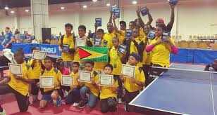 Us Table Tennis Team Guyana Strikes Gold At Us Open Table Tennis Championships