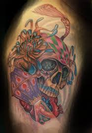 full color neo traditional owl tattoos photo 4 real photo