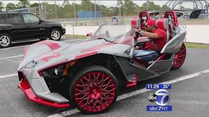 customized cars mets star yoenis cespedes arrives at spring training in style in