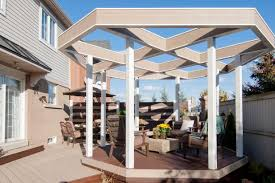 Roofing For Pergola by Ideas For Covering A Deck Diy